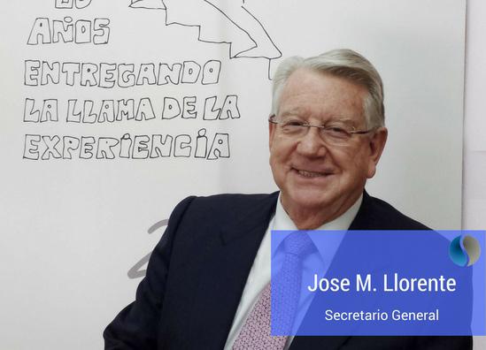 José María LLorente - Secretario General